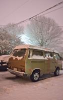 Vanagon Westfalia in Snow