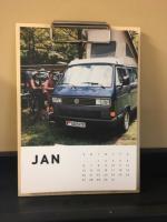 Calendar shot