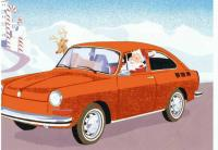Santa VW Fastback