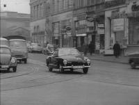 Lowlight Ghia on the streets of Hamburg in the 60's