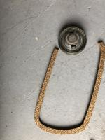 Gas cap cork using valve cover gasket