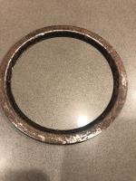 4.63 Speedo trim ring - black?