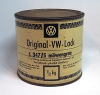 VW paint can - Mowengrau - Sea Gull Grey