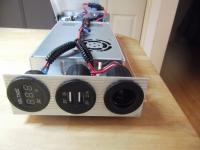 12 volt power supply for fridge and aux battery, etc