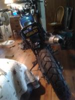 scrambler bike