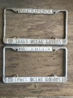 Trans Ocean Pasadena California dealership frames