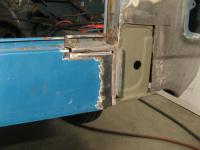 rear access holes and valence repair