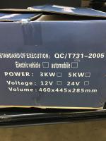 Inexpensive Chinese diesel heater for van