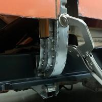 74 Westfalia C pillar section construction