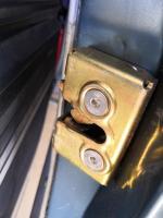 sliding door latch upgrade