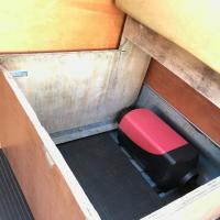 westy jump seat and heater
