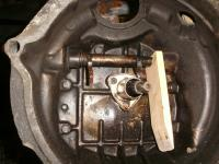 clutch fork lever removal