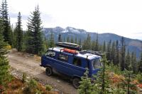 vanagon in the kootenays