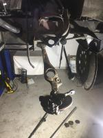 front suspension and brakes