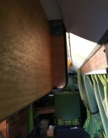Berlin interior measurements 1977 Westy