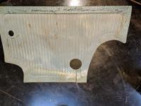 Satin Blue bulkhead mat