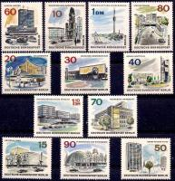 Berlin stamps, some with VWs