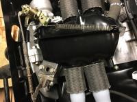 Egr plenum throttle spring