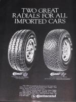 Continental Tires Advertisement