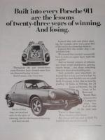 Porsche 911 Advertisement