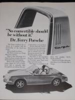 Porsche 911 Targa Advertisement