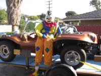 1957 Buggy with clown