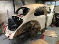Saturday working on the Beetle