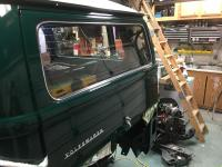 69 Bay Installing Tailgate Window with Deluxe Trim