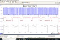 Diesel pulses of a 2012 CR TDI