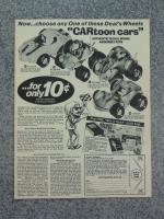 CARtoon Cars Bug Bomb Glitter Bug Ad