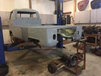 single cab body/chassis prep