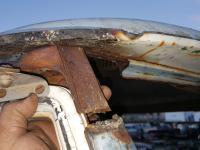 58 window pillar repair