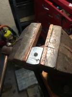 Alternator square nut fab unistrut