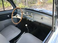 Interior shot of my 1959 Beetle