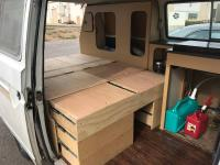 Custom camper interior