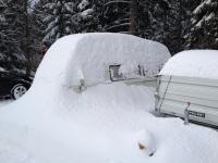 Baywindow's view on winter