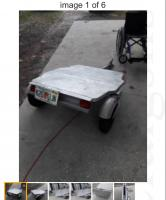 Besco Folding Trailer