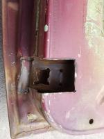 Passenger Lower Door Hinge Repair