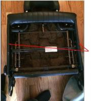 411-412 seat cover issues