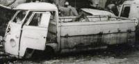 Vintage VW photo from Kiel, Germany