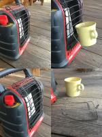 Buddy Hr Heater coffee cup holder