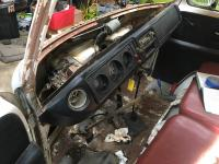 Pulled dash for Electrical Clean Up