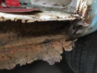 1968 Doka Windshield Rust Repair