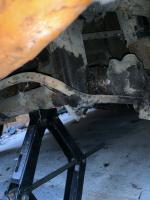 Ghia damaged lower torsion bar