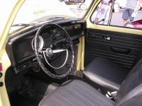 1970 Beetle Dash, A/C, Sapphire XI, and Steering Wheel Cover
