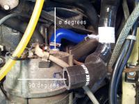 Diesel Vanagon heater hose 068121081B