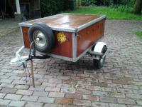 Westfalia Essen Trailer front mounted spare