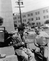 Neal Cassady with '58-'63 Beetle sedan