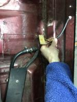 Rear heater