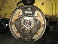 Left front brake